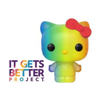 Pride 2020 Hello Kitty POP! Sanrio Vinyl figurine Hello Kitty (RNBW) 9 cm