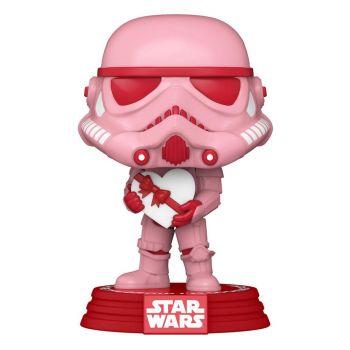 Star Wars Valentines POP! Star Wars Vinyl Figurine Stormtrooper w/Heart 9 cm
