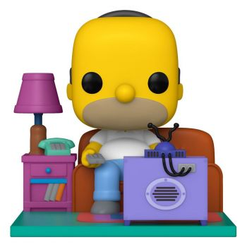 Simpsons POP! Deluxe Vinyl figurine Homer Watching TV 18 cm