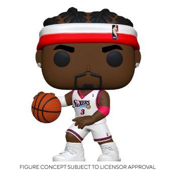 NBA Legends POP! Sports Vinyl figurine Allen Iverson (Sixers Home) 9 cm