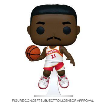 NBA Legends POP! Sports Vinyl figurine Dominique Wilkins (Hawks Home) 9 cm