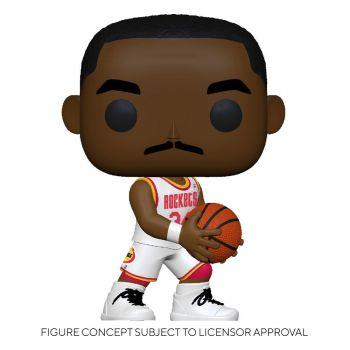 NBA Legends POP! Sports Vinyl figurine Hakeem Olajuwon (Rockets Home) 9 cm