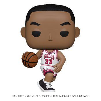 NBA Legends POP! Sports Vinyl figurine Scottie Pippen (Bulls Home) 9 cm