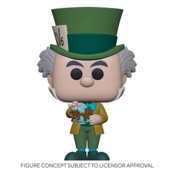 Alice au pays des merveilles Figurine POP! Disney Vinyl Mad Hatter 9 cm