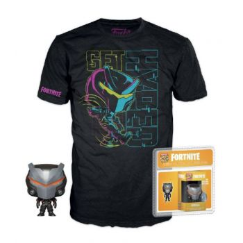 Fortnite Pocket POP! & Tee set figurine et T-Shirt Omega