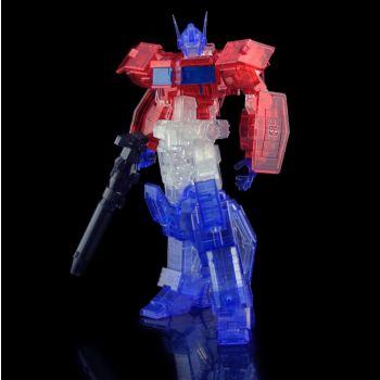 Transformers figurine Furai Model Plastic Model Kit Optimus Prime IDW (Clear Ver.) 16 cm