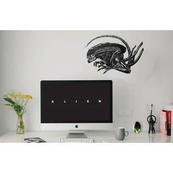 Alien stickers repositionnables