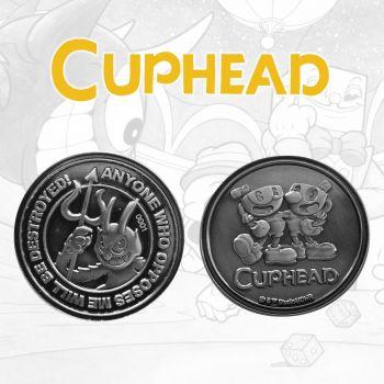 Cuphead pièce de collection The Devil, Cuphead & Mugman Limited Edition