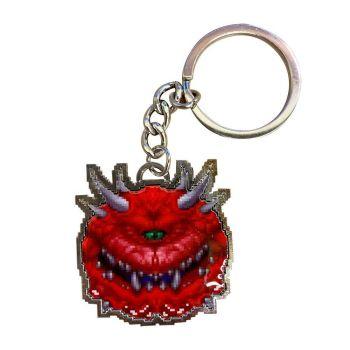 Doom porte-clés métal Cacodemon Limited Edition 4 cm