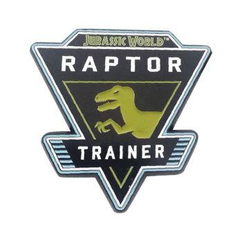 Jurassic World pin's Raptor