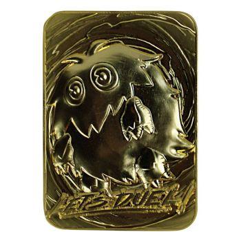 Yu-Gi-Oh! réplique Card Kuriboh (plaqué or)