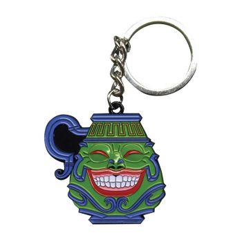 Yu-Gi-Oh! porte-clés métal Pot of Greed Limited Edition