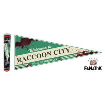 Resident Evil fanion Welcome To Raccoon City