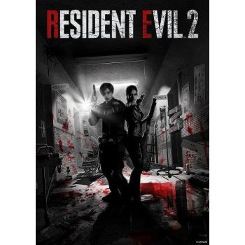 Resident Evil lithographie Limited Edition 42 x 30 cm