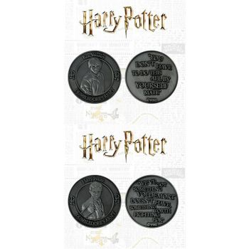 Harry Potter pack 2 pièces de collection Dumbledore's Army: Harry & Ron Limited Edition