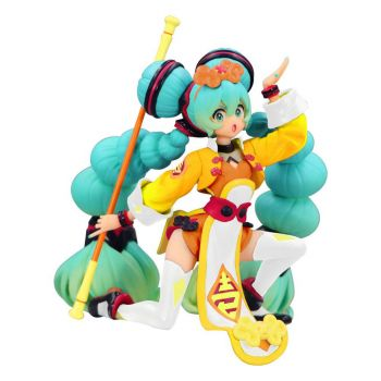 Vocaloid statuette PVC Noodle Stopper Hatsune Miku China Dress Color Variation 10 cm