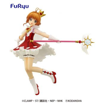 Card Captor Sakura Clear Card statuette PVC Special Sakura Rocket Beat 19 cm