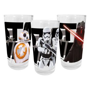 Star Wars VII packs 3 verres Episode VII (carton de 12)