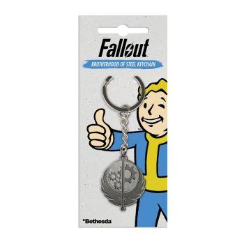 Fallout porte-clés métal Brotherhood of Steel