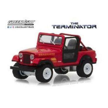 Terminator 1983 Jeep CJ-7 Renegade 1/18 métal --- EMBALLAGE ENDOMMAGE