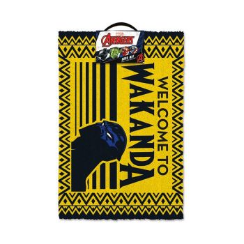 Black Panther paillasson Welcome to Wakanda 40 x 60 cm