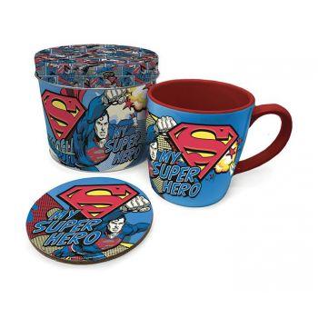 Superman mug avec sous-verre My Super Hero