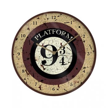 Harry Potter pendule Platform 9 3/4