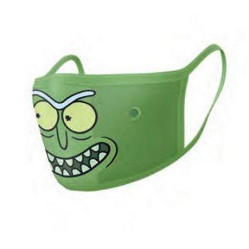 Rick et Morty pack 2 Masques en tissu Pickle Rick