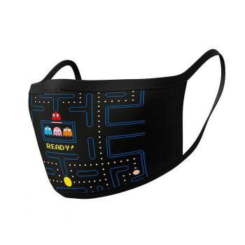 Pac-Man pack 2 Masques en tissu Maze Ready