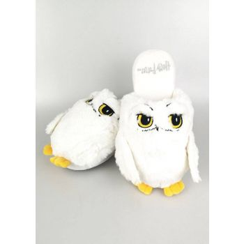 Harry Potter chaussons femme Hedwig
