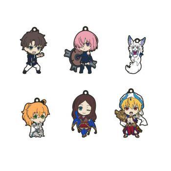 Fate/Grand Order - Absolute Demonic Front Babylonia pack 6 porte-clés PVC Nendoroid Plus Vol. 1 6 cm