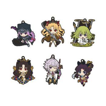 Fate/Grand Order - Absolute Demonic Front Babylonia pack 6 porte-clés PVC Nendoroid Plus Vol. 2 6 cm