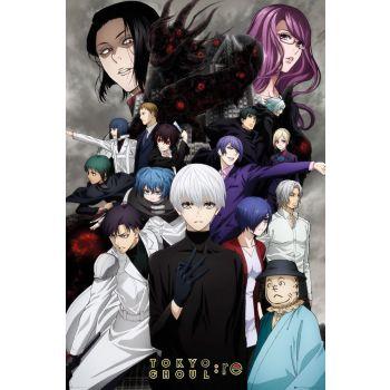 Tokyo Ghoul: RE pack posters Key Art 3 61 x 91 cm (5)