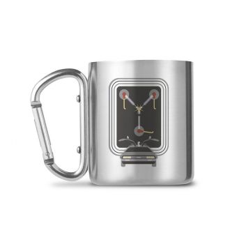 Retour vers le futur mug Carabiner Flux