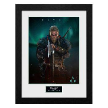 Assassins Creed Valhalla poster encadré Collector Print Eivor