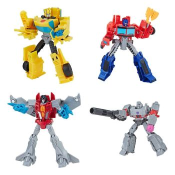 Transformers Buzzworthy Bumblebee pack 4 figurines Warriors 14 cm