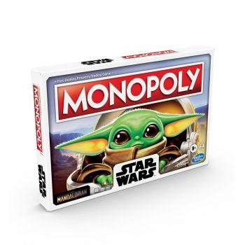 Star Wars The Mandalorian jeu de plateau Monopoly The Child *ALLEMAND*
