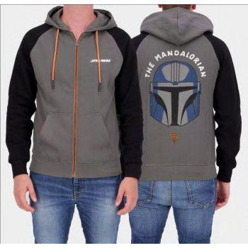 Star Wars : The Mandalorian veste à capuche Helmet
