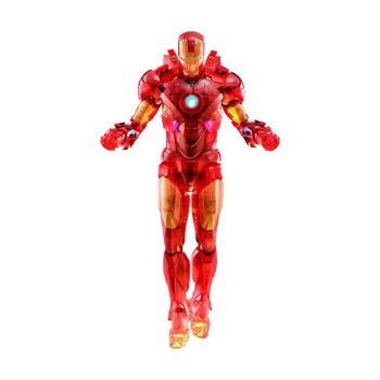 Iron Man 2 figurine MM 1/6 Iron Man Mark IV (Holographic Version) 2020 Toy Fair Exclusive 30 cm