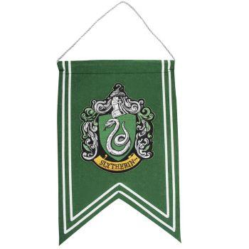 Harry Potter bannière Slytherin 30 x 44 cm