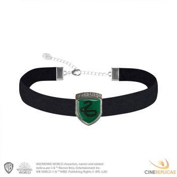 Harry Potter pendentif et collier Slytherin