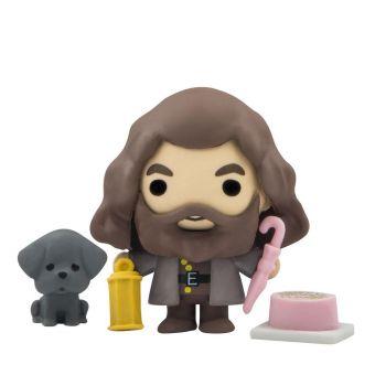 Harry Potter présentoir figurines / gommes Gomee Rubeus Hagrid (10)