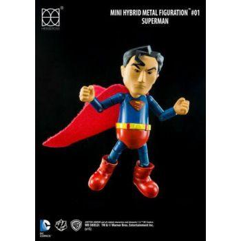 Justice League Mini figurine Hybrid Metal Superman 9 cm