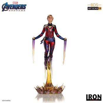 Avengers : Endgame statuette BDS Art Scale 1/10 Captain Marvel 26 cm