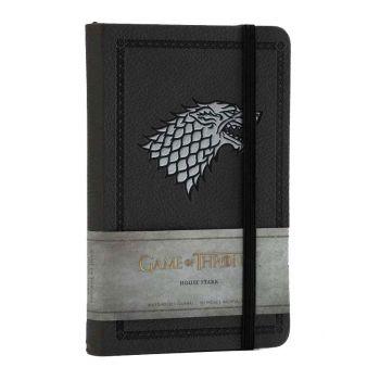 Le Trône de fer carnet de notes mini House Stark