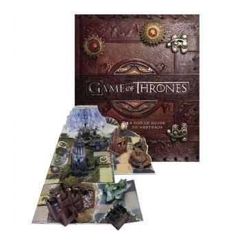 Le Trône de fer livre animé 3D A Pop-Up Guide to Westeros *ANGLAIS*