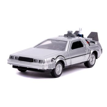 Retour vers le Futur II DeLorean Time Machine 1/32 métal Hollywood Rides