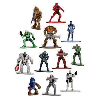 Halo assortiment figurines Diecast Nano Metalfigs 4 cm (24)