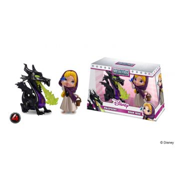 Disney pack 2 Metalfigs figurines Diecast Maleficent & Briar Rose 10 cm
