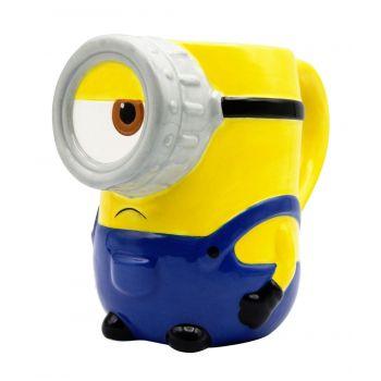 Les Minions 2 mug céramique 3D Stuart